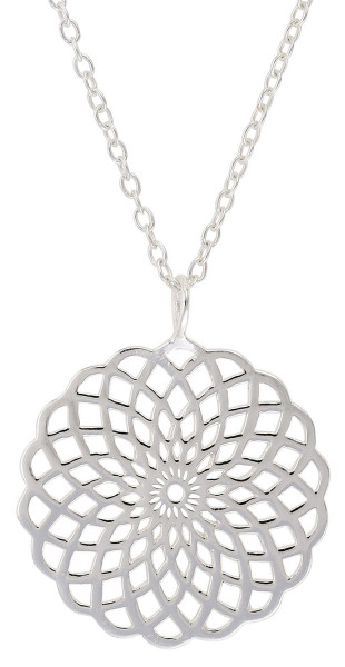 Necklace - Silver Amulet