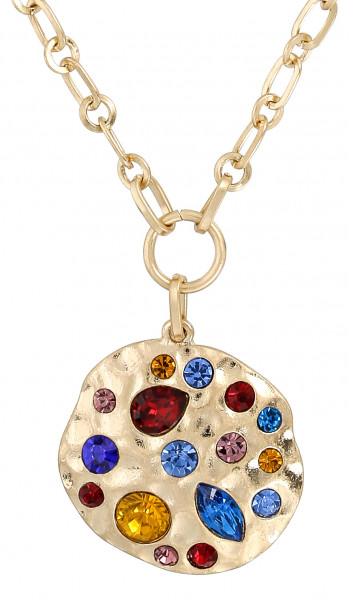 Ketting - Colorful Crystal