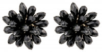 Stud Earrings - Dark Flower