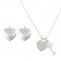 Set de plata - Secret Hearts
