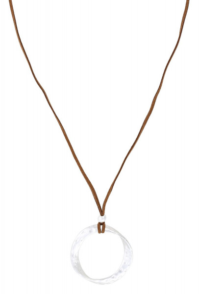Ketting - Long Matt Silver