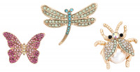 Set broches - Flying Insects
