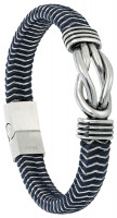 Heren Armband - Blue Steel