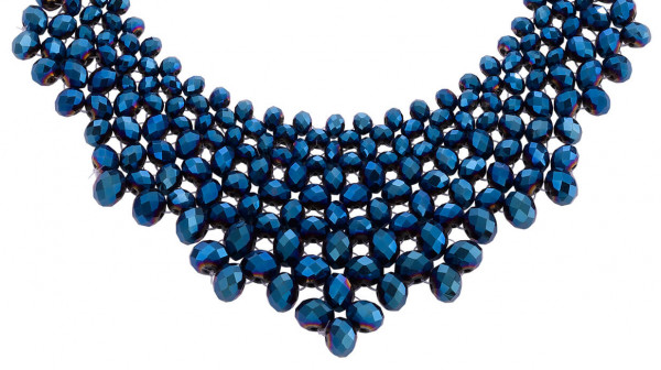 Collana - Metallic Blue