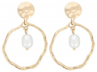 Boucles d'oreilles - Squiggly Pearl