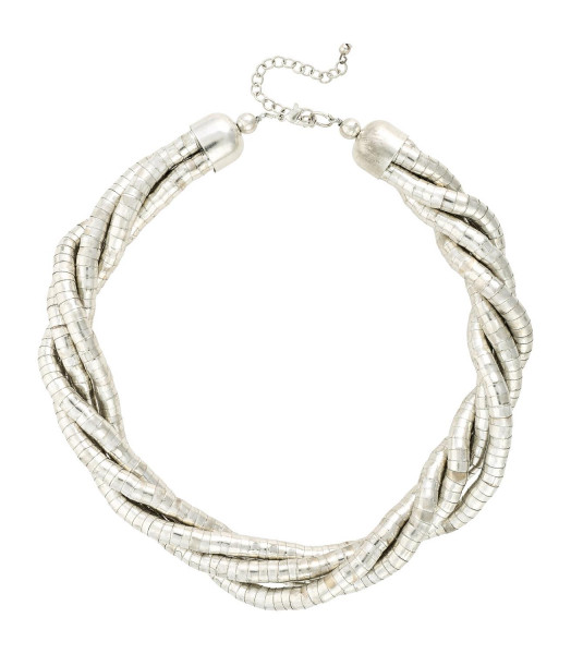 Collar - Silver Structure