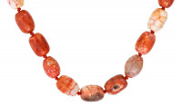 Edelsteen ketting - Spicy Coral