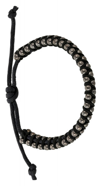 Heren Armband - Black Sphere