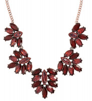 Ketting - Dark Red Glam