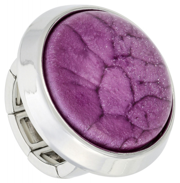 Ring - Marbled Lilac