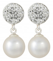 Pendientes - Glitter Little Pearls
