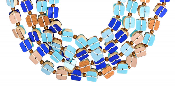 Collier - Glamour Blue