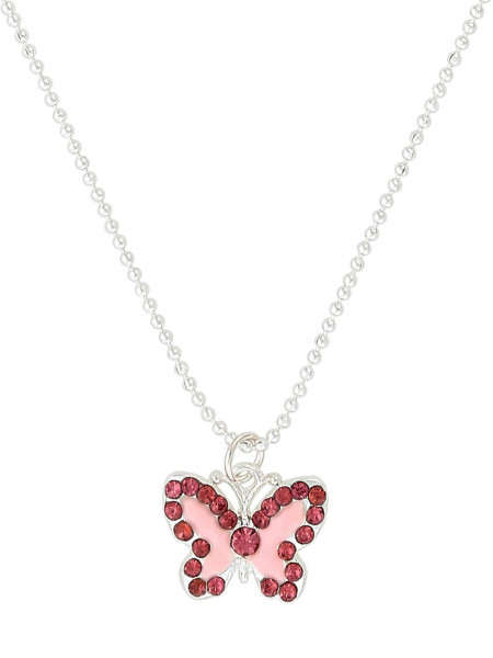 Necklace - Rose Butterfly