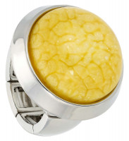Ring - Marbled Yellow