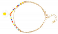 Armband met hanger - Colorful Daisy