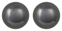 Ohrstecker - Haematite Ball