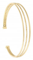 Breed armband - Gold Stripes