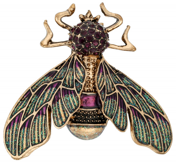 Broche - Sparkling Insect