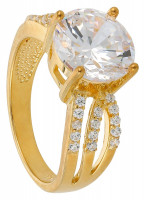 Anello - Golden Diamond