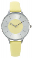 Montre - Silver Yellow