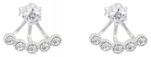 Stud Earrings - Zirconia
