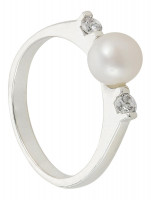 Ring - Diamond Pearl