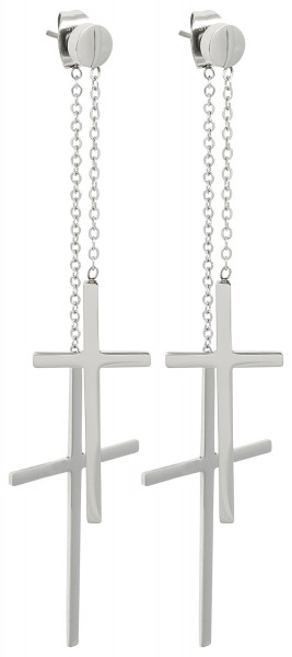 Pendientes - Double Cross