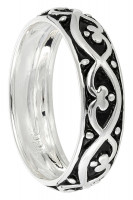 Ring - Silver Tribal