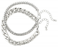 Ensemble de bracelets hommes - Duo Chain