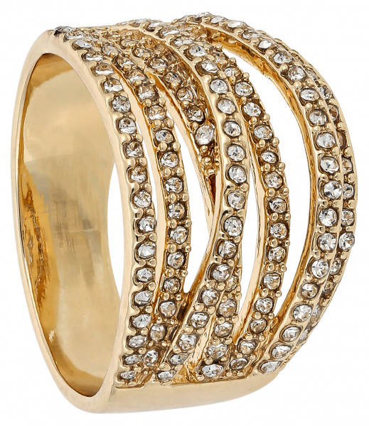 Ring - Sparkling Curve