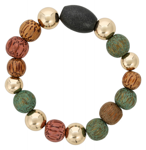 Pulsera - Nice Colorful Wood