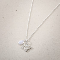 Collana - Silver Lotus Friend
