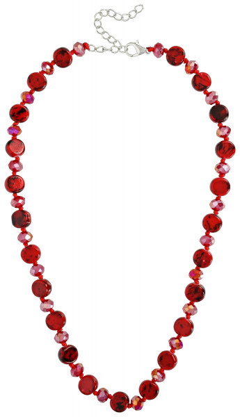 Collier - Funky Red