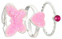 Kinder Ring - Pink Trio