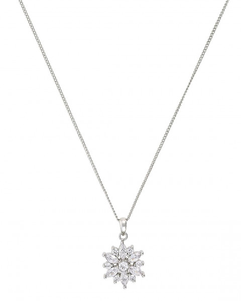 Ketting - Cute Crystal Flower
