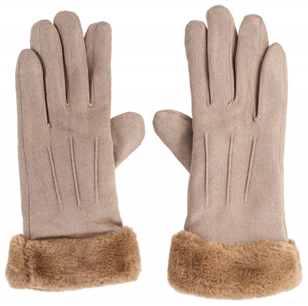 Guantes - Brown Elegance