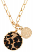 Collar - Leopard Coin