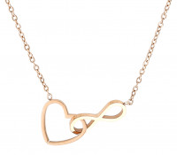 RVS ketting - Infinite Love