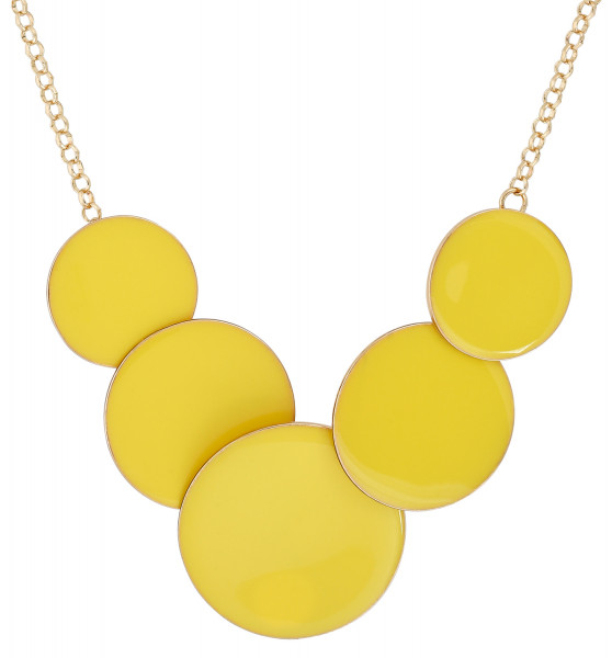 Collier - Yellow Circles