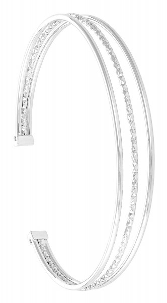 Armband breed - Fine Silver