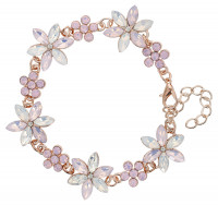 Pulsera - Purple Flower