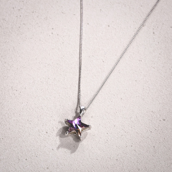 Collier - Lilac Star