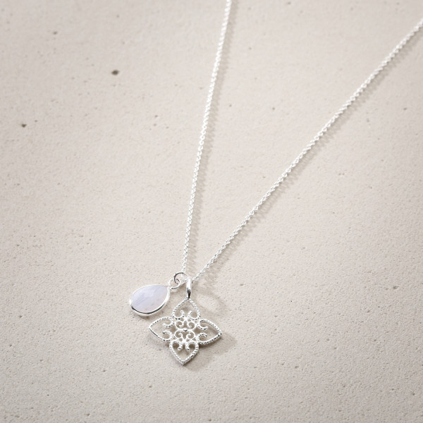 Collier - Silver Lotus Friend
