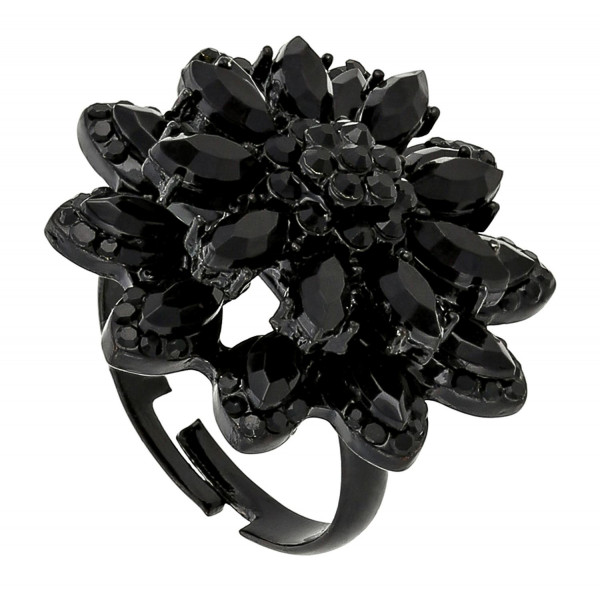 Anillo - Dark Flower