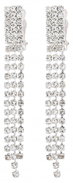 Boucles d'oreilles clips - Lovely Crystals