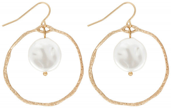 Oorbellen - Pearly Chic