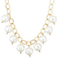 Collier - Flat Pearl