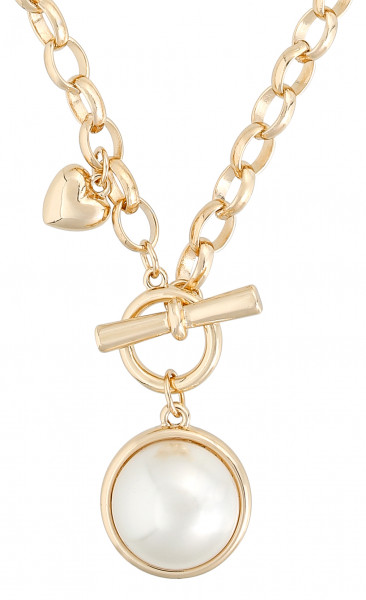 Ketting - Pearly Heart