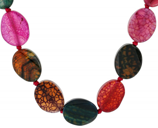 Collana - Green and Red