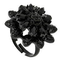 Ring - Dark Flower